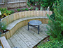 Timber Seating Area